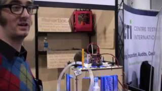 CES 2010 MakerBot Industries 3D Printer
