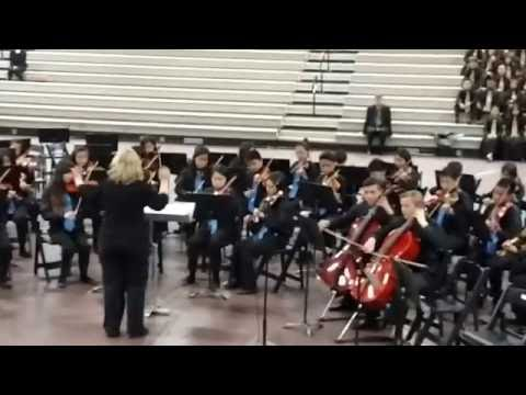 Piedmont Middle School Advance Orchestra at Morrill Middle School