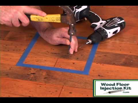 dritac repair kit - fixing engineered floor pops and squeaks - youtube