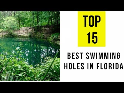 Best Swimming Holes in Florida. TOP 15