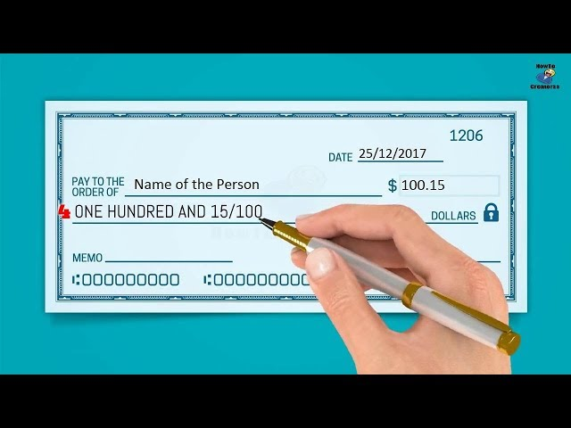 How to Write a Check in 6 Easy Steps   wikiHow