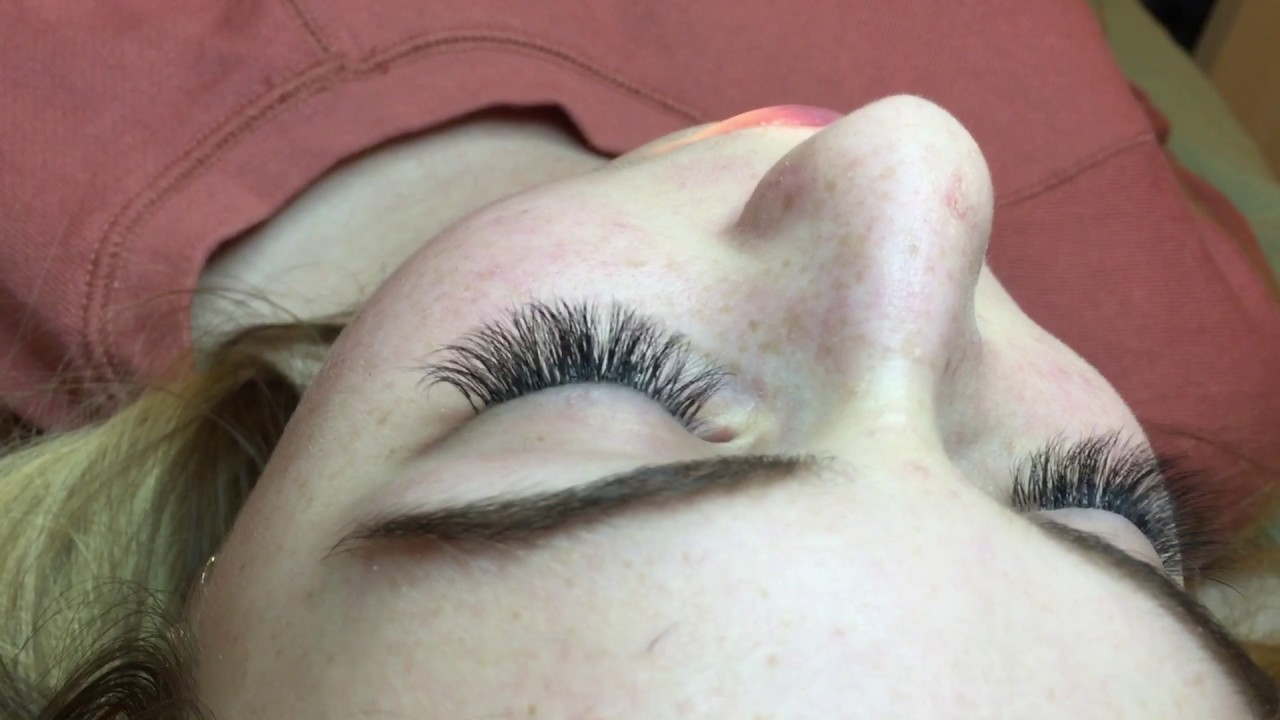 Refilled 3d Eyelash Extension Youtube