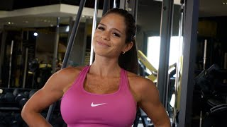 MICHELLE LEWIN Workout: Shoulders - Small Tricks, Big Results