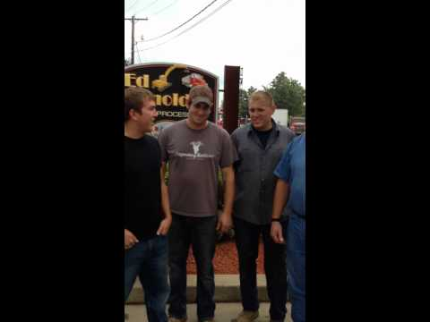 Edward Arnold Scrap Processors and Gator Ferrous do the ice bucket challenge!