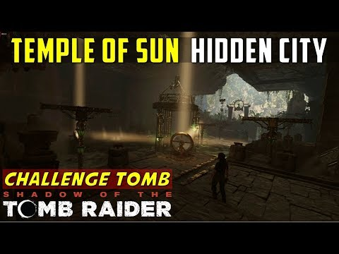 Temple of the Sun (Challenge Tomb Mirror Puzzle, The Hidden City) - SHADOW OF THE TOMB RAIDER