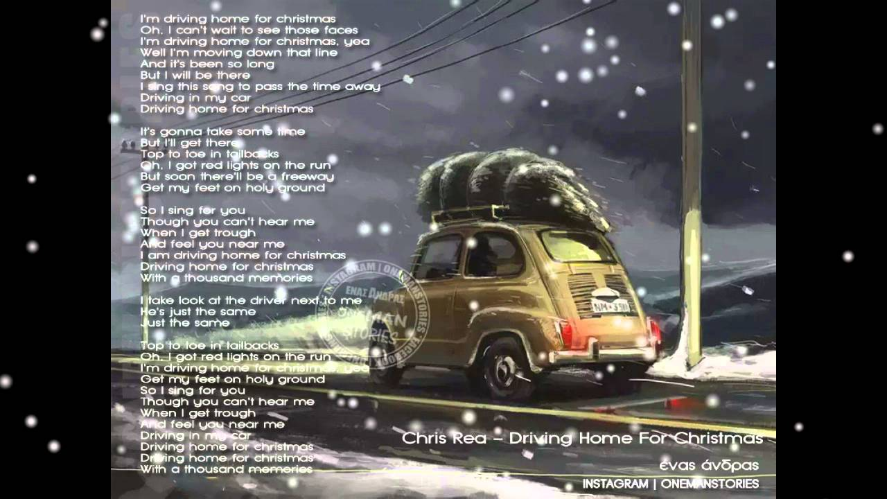A Home For Christmas.Chris Rea Driving Home For Christmas Lyrics