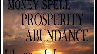 Money Spell that makes you a magnet for wealth