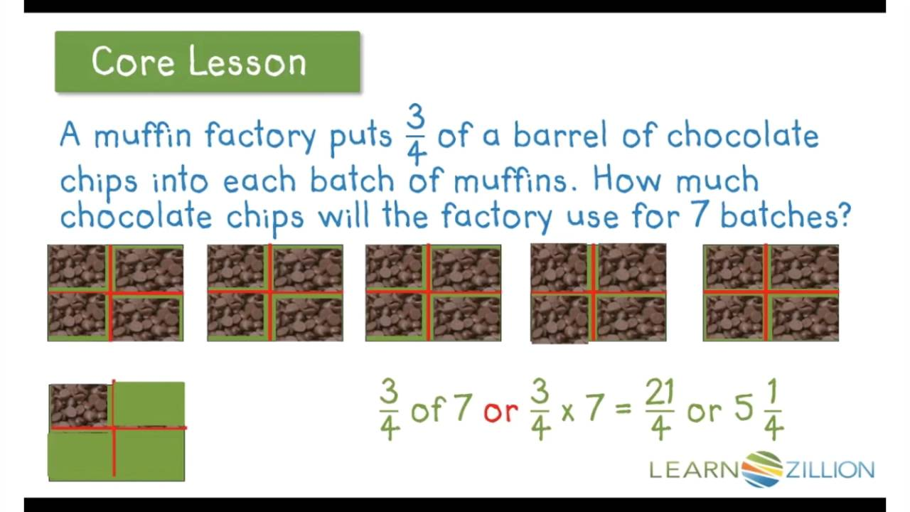 Learnzillion Multiplying Fractions By Whole #'s