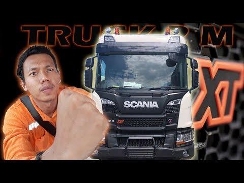 Repeat Riview Interior Cabin SCANIA P410 XT New Truck