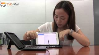 iPad Mini Bluetooth Keyboard Wireless Keypad Case with Stand Review TVC-Mall.com
