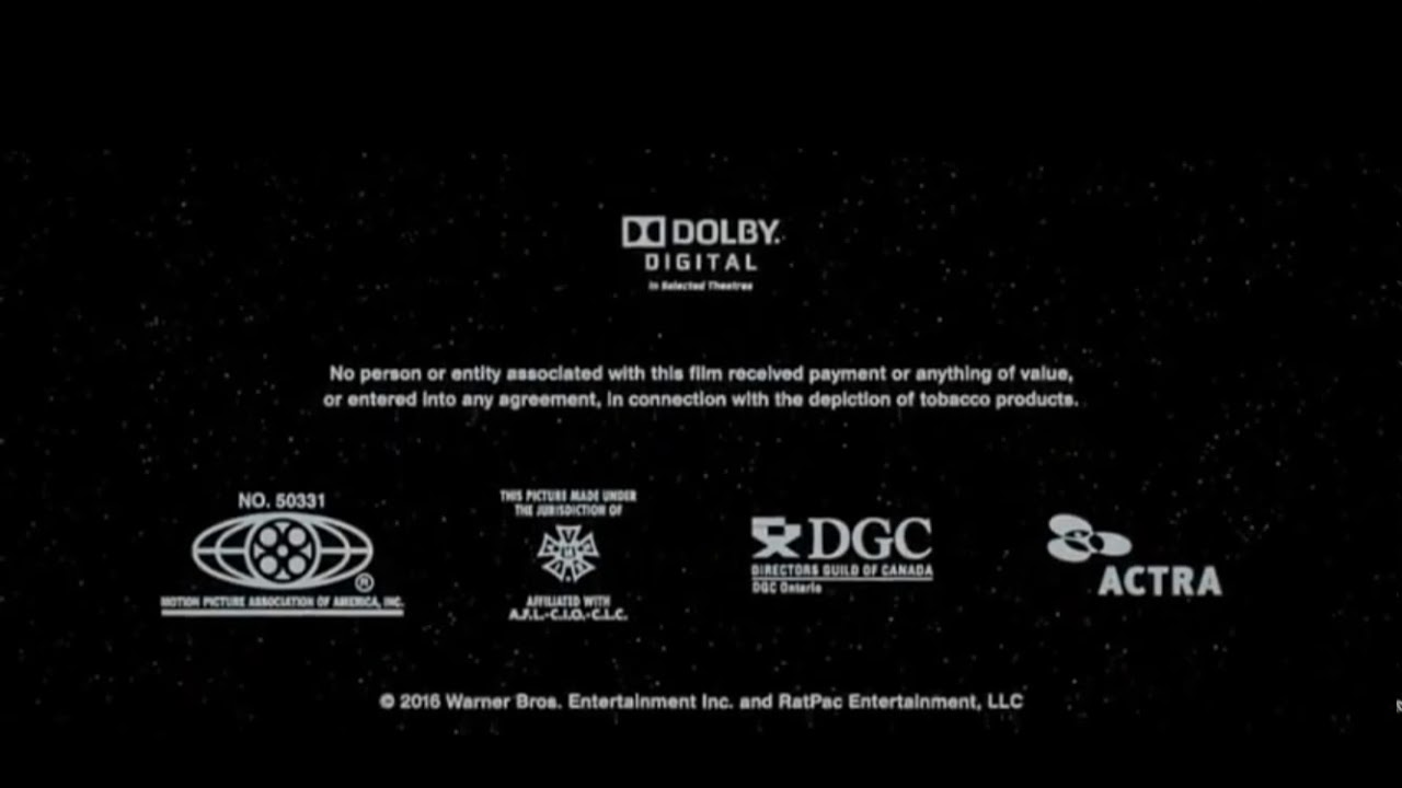 Prints By Deluxe Credits: Mpaa Logo