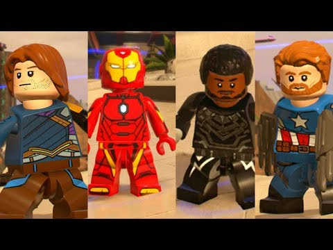 Avengers Infinity War Missing Characters in LEGO Marvel Superheroes 2!
