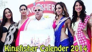 vijay-mallya-with-models-launched-kingfisher-calender-2014