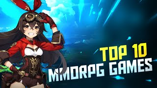 Top 10 Mobile MMORPG Games of 2021! Android and iOS
