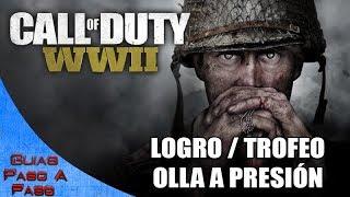 Video de Call of Duty: WW2 (Zombis) | Logro / Trofeo: Olla a presión