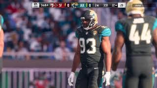 49ers @ Jaguars Ranked Online Game Madden NFL '18
