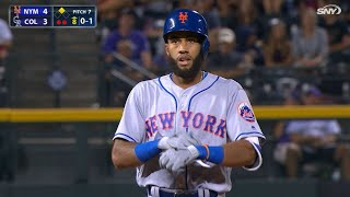 NYM@COL: Rosario registers his first Major League hit