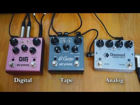 Pedalboard Tips #11 - Difference Between Delay Types (Digital, Tape, Analog)