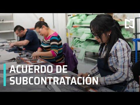Acuerdo de subcontratación y reparto de utilidades - Despierta