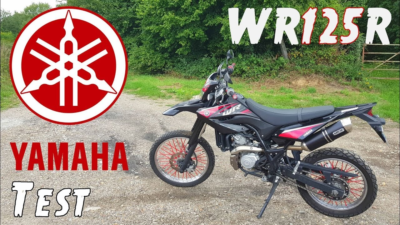 surement le meilleur trail 125cc 4 temps yamaha wr125r youtube. Black Bedroom Furniture Sets. Home Design Ideas