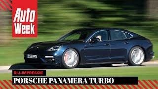 Porsche Panamera Turbo - AutoWeek Review(Na zeven jaar verschijnt er een geheel nieuwe Porsche Panamera op de markt. Afgeladen met technologie en cijfermatig al een buitengewoon indrukwekkende ..., 2016-08-27T10:00:03.000Z)