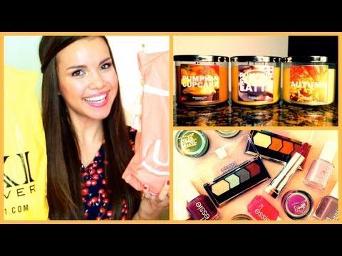 Fall Haul ♥ Clothes, Makeup, Candles, and More! thumbnail