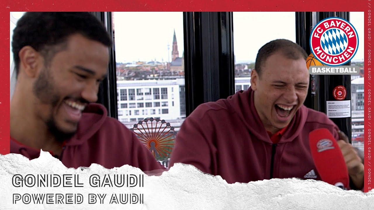 Die FCBB-Gaudi-Gondel mit Nick Weiler-Babb, Jalen Reynolds und Co. |  @Audi Deutschland   | FCBB
