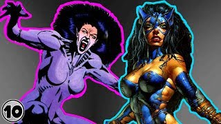 Top 10 Alternate Versions Of Catwoman Better Than The Original