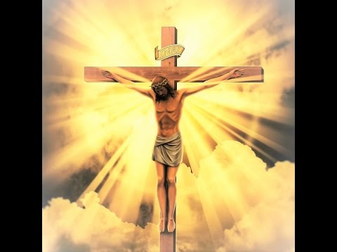 Behold, the Cross of the Lord! Begone, all evil powers!Hallelujah! Hallelujah! Hallelujah!