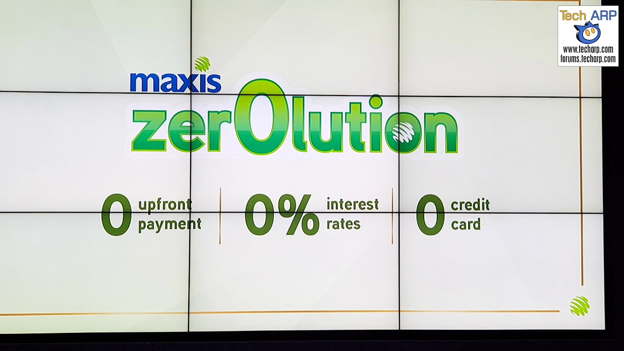 Maxis Zerolution 360 Explained!
