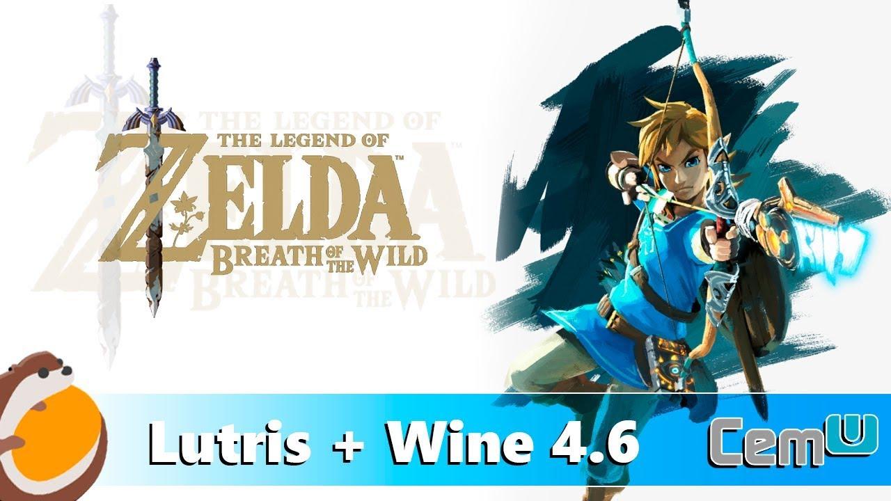 Cemu 1 15 5c - Linux Mint 19 1 - Lutris/Wine 4 6 -1080p