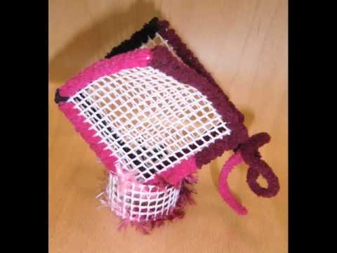 Corbeille porte serviettes 22 fevr 2012 youtube - Porte serviette en grillage plastique ...