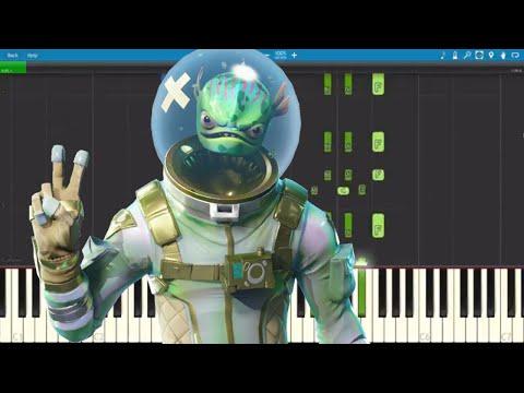 ALL Fortnite Dances on Piano  Piano Tutorial