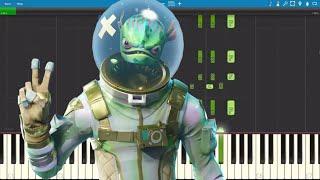 ALL Fortnite Dances on Piano - Piano Tutorial