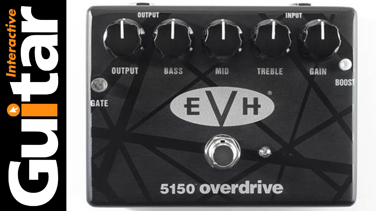 eef1ec43049 MXR EVH 5150 Overdrive Effects Pedal Review - YouTube