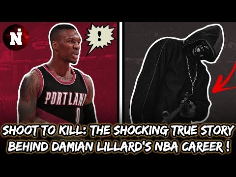 Shoot To Kill: The Shocking True Story Behind Damian Lillard's NBA Career !