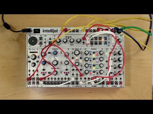 Intellijel Bifold 3U Dual Channel Wavefolder Module