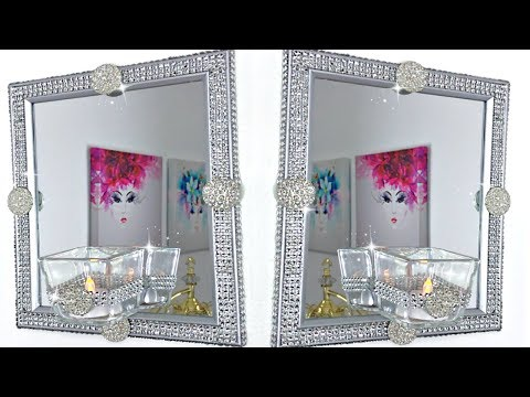 Elegant Home Decor DIY With Dollar Tree Items #homedecor #springdecor #dollartree #blingismything