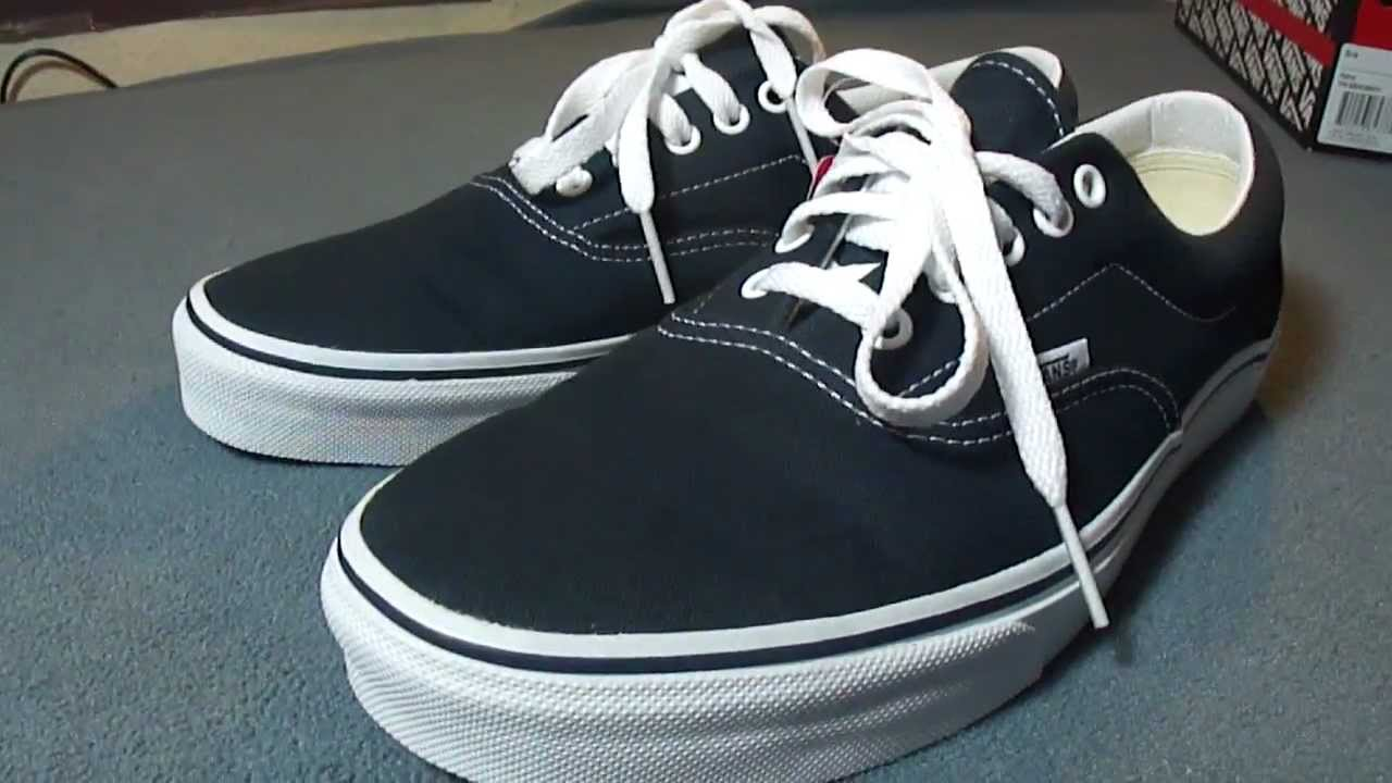 Shoe Review  Vans Era (Navy) - YouTube 819b2b964261