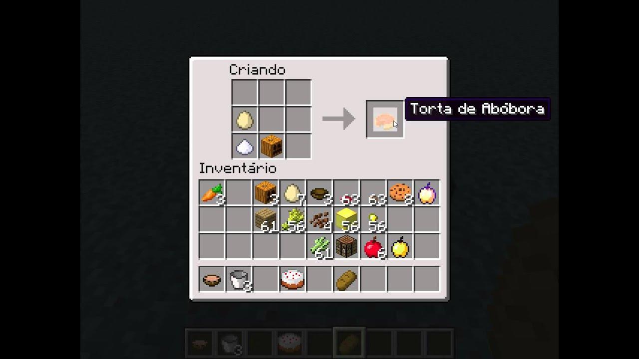 Minecraft-como Fazer Coisas#1 Alimentos