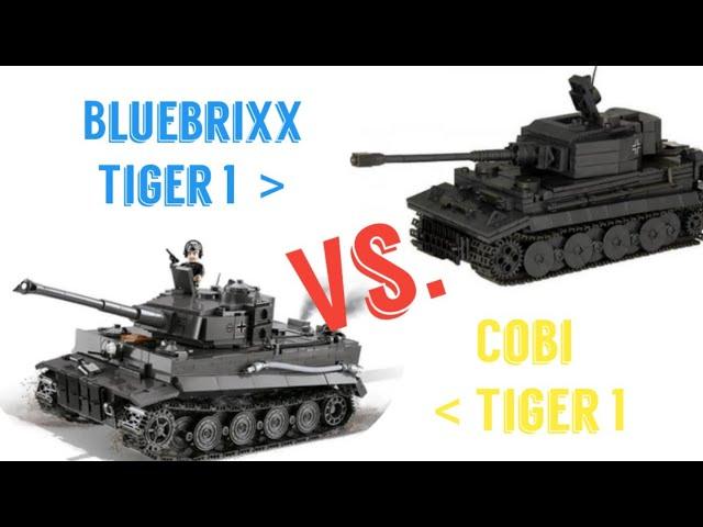 Der ULTIMATIVE Vergleich | Cobi und Bluebrixx [Tiger 1 Ausf. E]