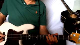 Rhythm of the Rain ~ The Cascades ~ Cover w/ Epiphone EJ-200CE BK - Fender MP Jazz Bass Short Scale