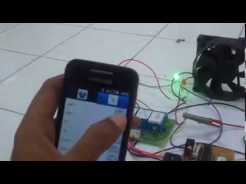 Control Home Appliances from Android Device using Bluetooth YouTube