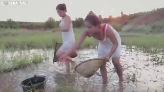 Alışılmadık Balık Yakalama Yöntemleri - Herkes Görmeden İnanmıyor