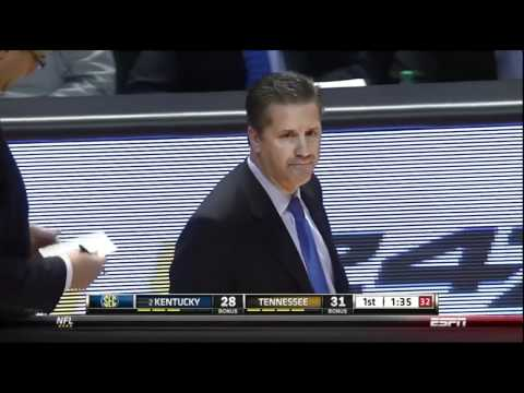 WildcatWorld.com - Even Calipari doesn't know why he got called for a technical foul