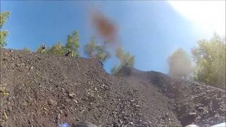 coal hill banshee trx450 crf250 hill climbing coal life