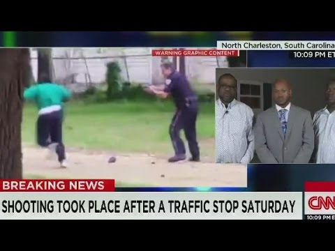 Walter Scott's brother reacts to video of cop shooting