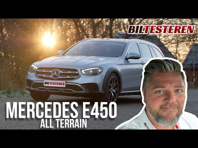 Mercer i cowboystøvler! Mercedes-Benz E 450 All-Terrain (test)
