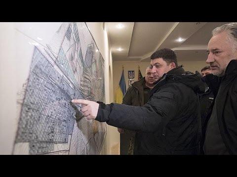 Ukraine: People flee frontline eastern town amid upsurge in violence
