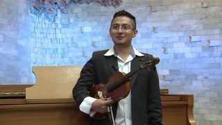 Reportaje recital de piano y violín - 1 Jun 2015